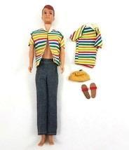 Vintage Mattel Allan Straight Legs Barbie Doll Clothes Shoes 1964-66 No ... - $59.23