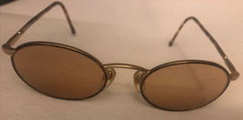 Vintage Giorgio Armani Tortoise & Gold Eyeglasses Frame 192 833 48▫️18 1... - $59.39
