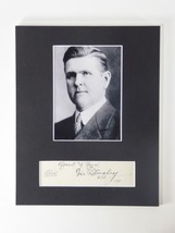 A Victor Donahey SIGNED Matted 8x10 Display Governor Senator Ohio Autogr... - $108.85