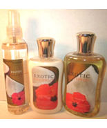 Bath & Body Works Body Mist Lotion Shower Gel Set  Exotic Coconut - $99.99