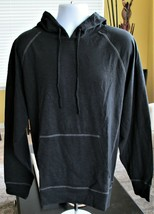 Ouray Sportswear Slub Hoodie Sweatshirt Men's Sz L Long Sleeve Activewea... - $36.63