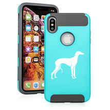 For Apple iPhone X XS MAX XR Shockproof Hard Soft Case Cover Greyhound - $14.99