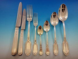 Empire by Puiforcat France Sterling Silver Flatware Set Service 96 pieces Dinner - $18,995.25