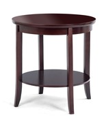 Round Wood Sofa Side End Table - $78.52