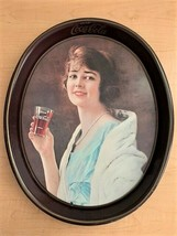 Vintage 1973 Coca Cola Tin Serving Tray - Reprint of a 1923 Ad - $7.92