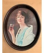 Vintage 1973 Coca Cola Tin Serving Tray - Reprint of a 1923 Ad - $7.92