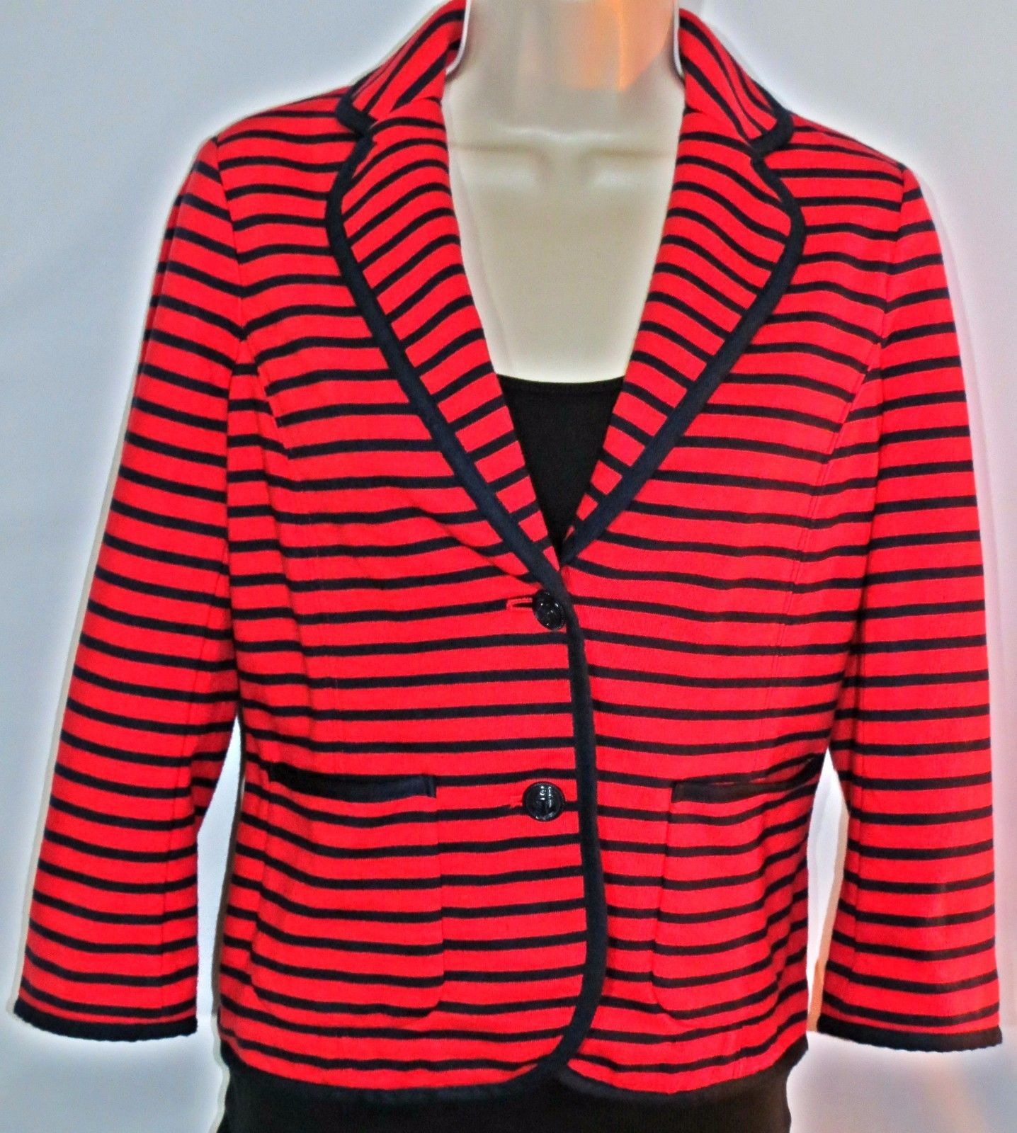 30ad984d117001 Talbots Women's Red & Blue Nautical Striped and 50 similar items