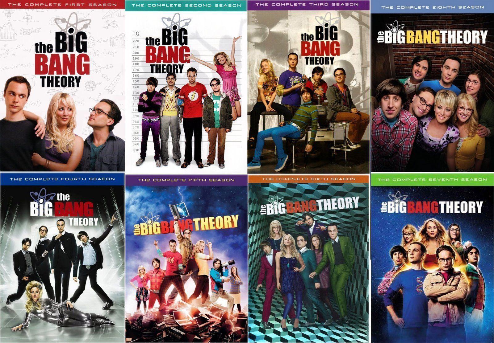 Big Bang Theory : Seasons 1-8 ( 1 2 3 4 5 6 7 8 ) DVD BRAND NEW, used for sale  USA