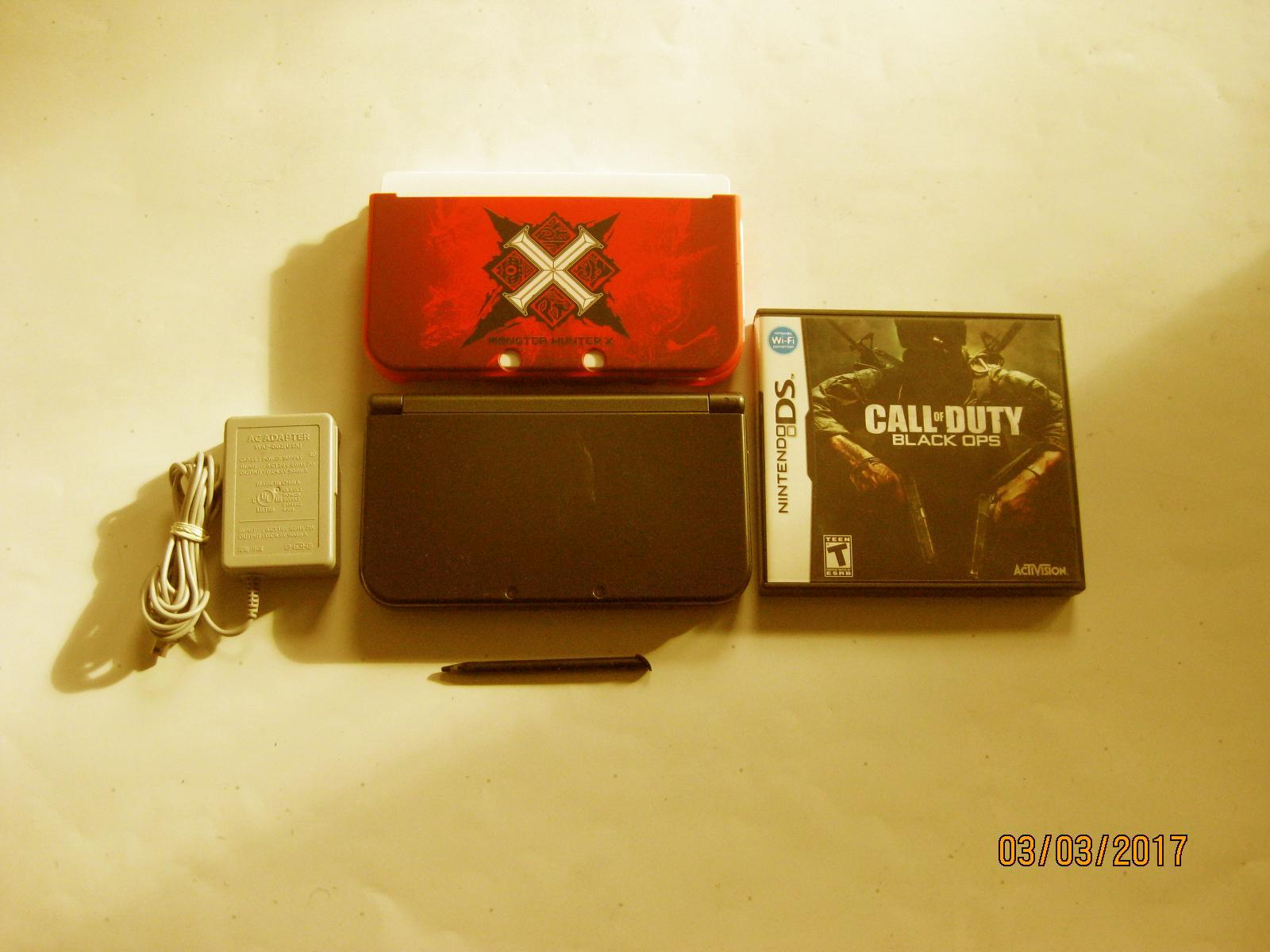 Primary image for Nintendo New 3DS XL Black w Black Ops & More !!