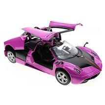 Best Gift Simulation Model Acousto-Optic Alloyed Car Model 1/32 Purple - $27.57