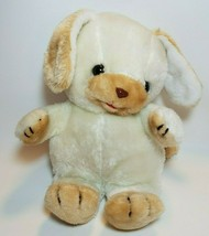 "Vintage Commonwealth Puppy Dog 12"" Plush Stuffed Animal White Beige 198... - $39.55"