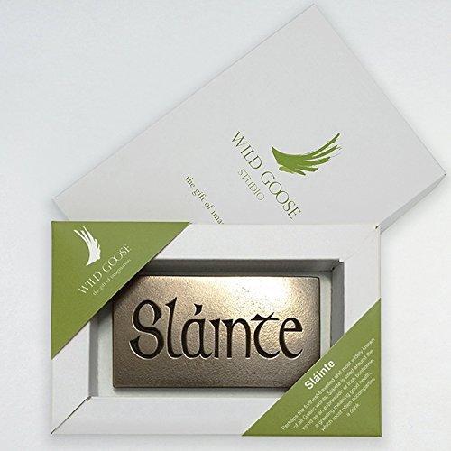 Wild Goose Story of Ireland Slainte Bronzed Plaque