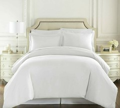Hotel Luxury 3pc Duvet Cover Set-1500 Thread Count Egyptian Quality Ultra Silky  - $34.64