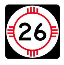 New Mexico State Road 26 Sticker R4123 Highway Sign Road Sign Decal - $1.45+