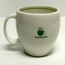 STARBUCKS COFFEE COMPANY VINTAGE 2003 BARISTA IVORY COFFEE CUP/MUG 14 oz - $29.83