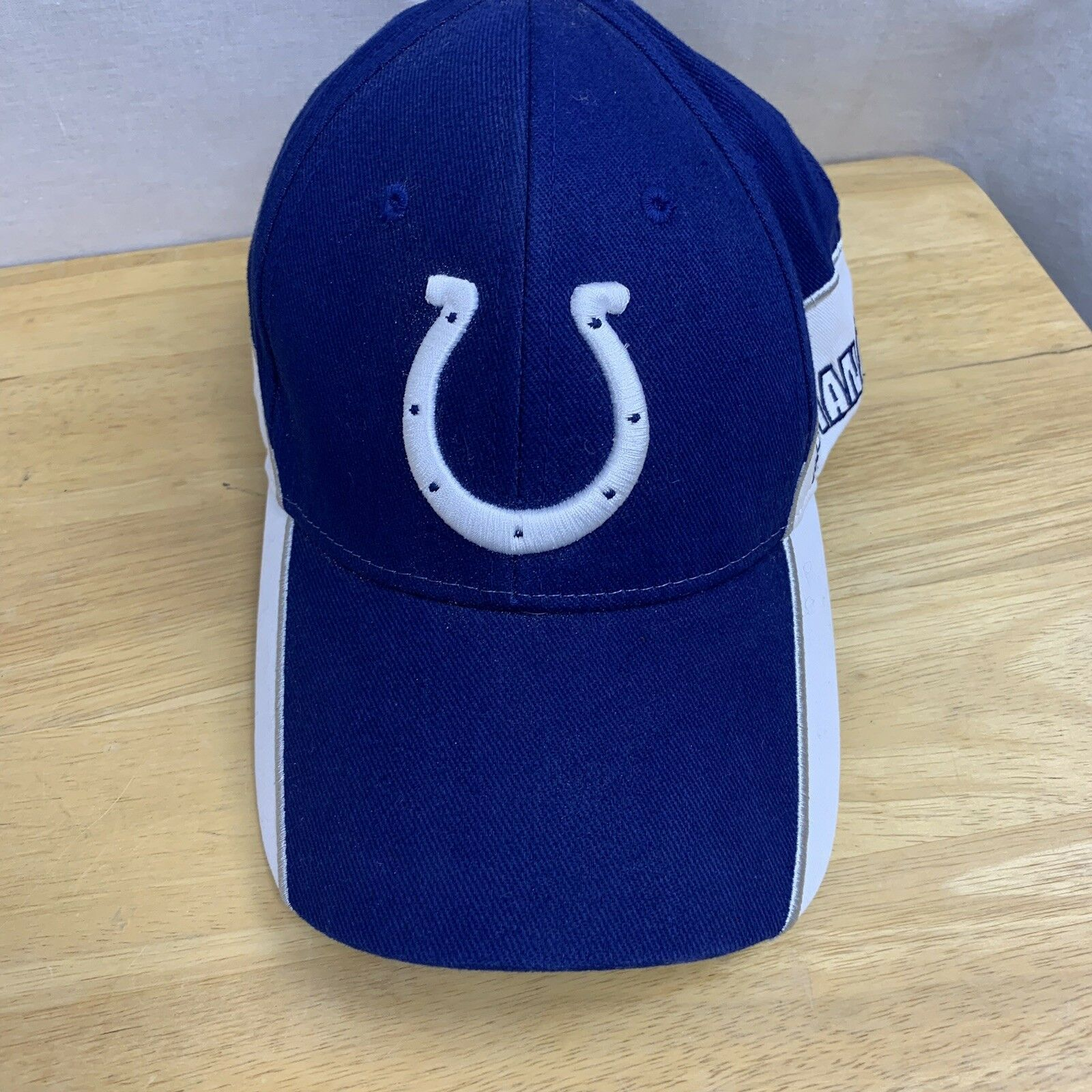 INDIANAPOLIS COLTS Officially NFL Licensed Embroidered Stretch Adult Ball Cap - $15.95