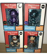 NEW Paul Frank Trexi Julius Lot of 4 Knight Purple Blue Chrome Goody Two... - $14.69