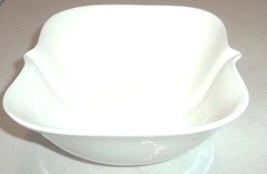 New Eco-ware Porcelain Scallop Square Rim Soup/Cereal Bowl Catania by TA... - $14.99