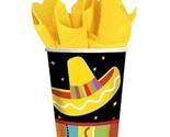 Fiesta Fun Cinco de Mayo Mexican Theme Party 9 oz. Paper Cups