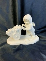 Department 56 Snowbabies Angel There's Another One Picking Up Stars - $15.00