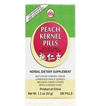 Peach Kernel Pills (Tao Ren Wan / Run Chang Wan), 200 ct, Min Shan - $14.07