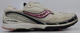 Saucony Kilkenny Xc3 Size 7.5 M(B) Eu 38,5 Femmes Piste Chaussures Blanches