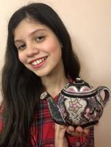 $5995 Nib Judith Leiber Crystal Teapot Minaudiere clutch handbag bag - $2,771.01