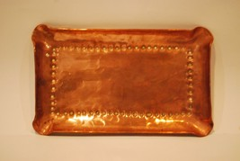 Vintage Arts and Crafts Copper Ashtray     #6010 - $33.61