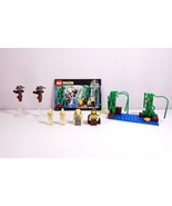 Lego Star Wars Episode I Naboo Swamp 7121 Set Complete with 4 Minifigs - $34.95