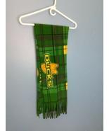 "Oregon Ducks Duck Foot logo fleece scarf 56"" - $9.89"