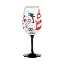 """Designs by Lolita"" Acrylic Wine Glass Maritime Set of 2 - 16 oz Boat, Hot Tub image 2"