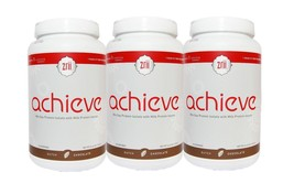 3 x Zrii Achieve Mix Soy Protein Chocolate Nutrition Milk Protein Exp 07/18 - $111.27