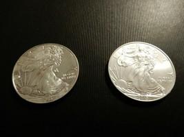 Two .999 Fine Silver 2013 Eagles - $70.00