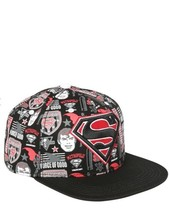 DC Comics Superman Logo Collage Snapback Hat Cap - $19.30