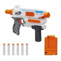 Hasbro Nerf N-Strike Modulus Mediator Pump-Action Blaster Includes 6 Foam Darts - $13.99