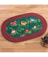 Winter Bird Christmas Braided Rug - $13.29