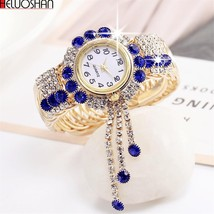 Rhinest Bracelet Watch Women watch LadiesFeno Reloj Mujer  - $11.98