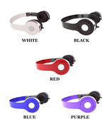 DJ Style Stereo Over Ear Headphones w Nice Quality Sound for 3.5 mm Audi... - $5.73+