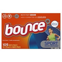 Bounce Fabric Softener Dryer Sheets, Pure Sport, 105 Count - $10.33
