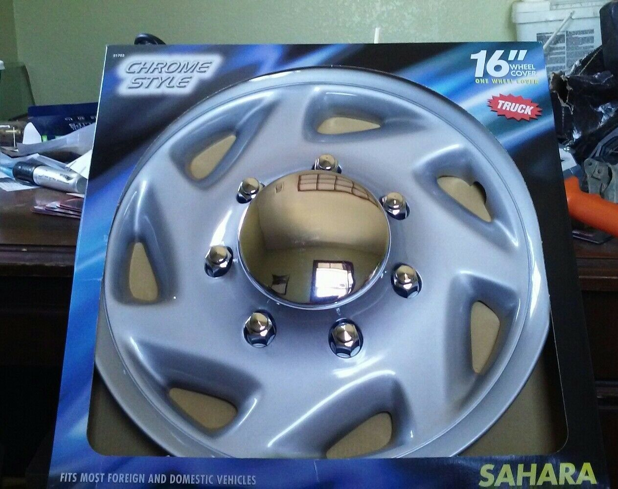 "16"" Wheel Skins Hubcaps Covers SET of 4"
