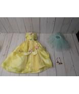 """J4  Disney Princess Belle beauty 18"""" Porcelain Doll Replacement dress je... - $19.79"""
