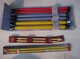 Joann Craft Boye Coats  Plastic Knitting Needles US17 US19 US 35 11 9 - $14.84