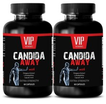 Aloe Vera tablets - CANDIDA AWAY EXTRA STRENGTH - candida away- 2 Bottles - $23.33