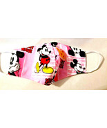 FACE MASK Cover pink blue Mickey Mouse club SOFT Fashion custom fun ART ... - $8.36+