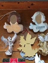 Estate Lot of Hallmark Heavenly Gilt Painted Resin Sparkly Silver Plastic White  image 10