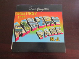 Bruce Springsteen Greetings from Asbury Park LP record post card cover V... - $15.00