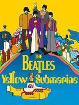 Beatles Retro Yellow Submarine Metal Sign Image - $29.95