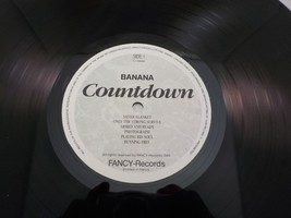 "Banana Countdown Vinyl LP 12"" Record 1986 Fancy Records TZ-1866K - $1.59"