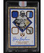 2017 Panini Vertex Barry Sanders Autograph Jersey Patch Card #2/5 Lions ... - $639.99