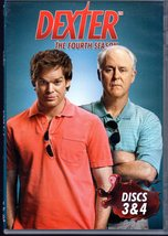 DVD - Dexter - The Fourth Season (2 Discs- Disc 3 & 4 ) - $4.95